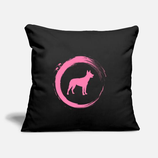 Christmas Present Pillow Cases - Australian Kelpie - Pillowcase 17,3'' x 17,3'' (45 x 45 cm) black