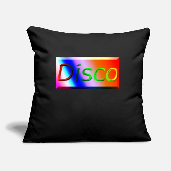 Discothek Pillow Cases - Disco3 - Pillowcase 17,3'' x 17,3'' (45 x 45 cm) black