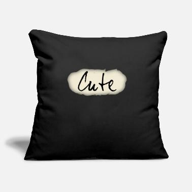 Cute Cute, cute, cute, imprint - Pillowcase 17,3'' x 17,3'' (45 x 45 cm)