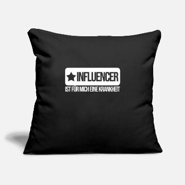 Disease Disease influencer - Pillowcase 17,3'' x 17,3'' (45 x 45 cm)