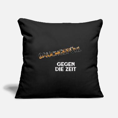 Gut feeling - against time - Pillowcase 17,3'' x 17,3'' (45 x 45 cm)