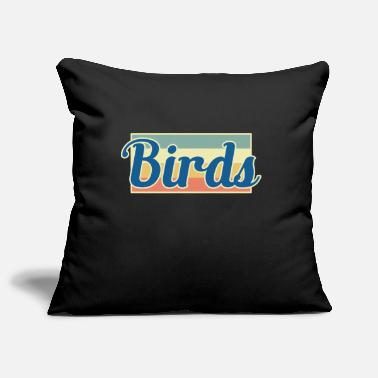 Bird bird birds - Pillowcase 17,3'' x 17,3'' (45 x 45 cm)