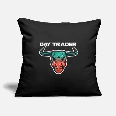 Tradition Day Trader Trader Bulle - Housse de coussin