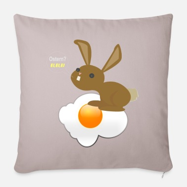 Egg Bunny Easter egg, egg, egg - fried egg - Pillowcase 17,3'' x 17,3'' (45 x 45 cm)