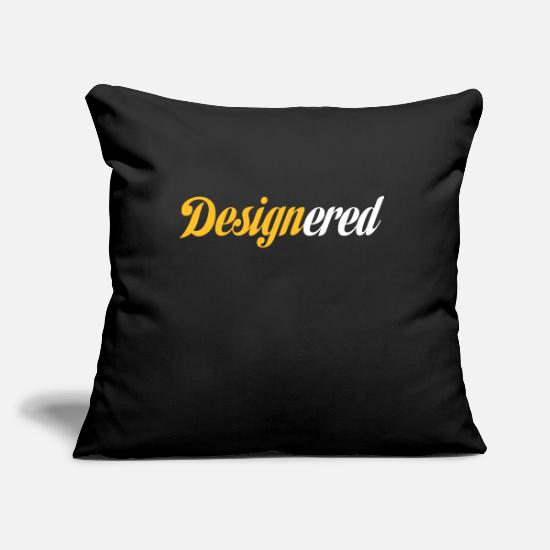 Art Pillow Cases - Designered - Pillowcase 17,3'' x 17,3'' (45 x 45 cm) black