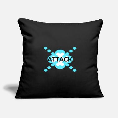 Attack attack - Pillowcase 17,3'' x 17,3'' (45 x 45 cm)