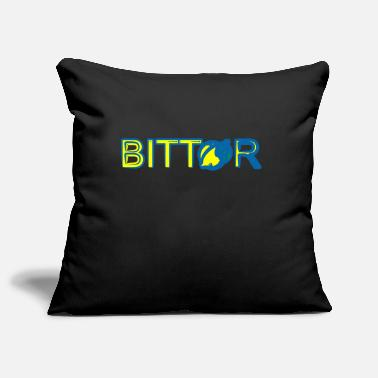 Bitter BITTER - Pillowcase 17,3'' x 17,3'' (45 x 45 cm)
