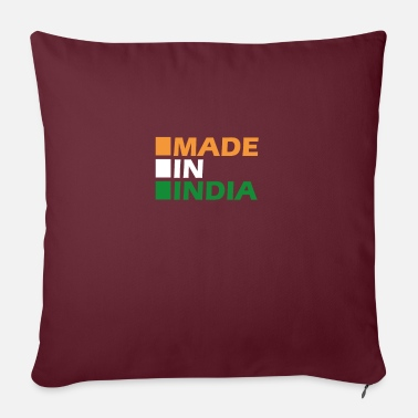 Made in India - Pillowcase 17,3'' x 17,3'' (45 x 45 cm)