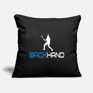 Backhand Tennis Backhand - Pillowcase 17,3'' x 17,3'' (45 x 45 cm)