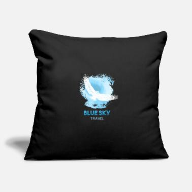 Blue Sky Blue Sky Travel - Pillowcase 17,3'' x 17,3'' (45 x 45 cm)