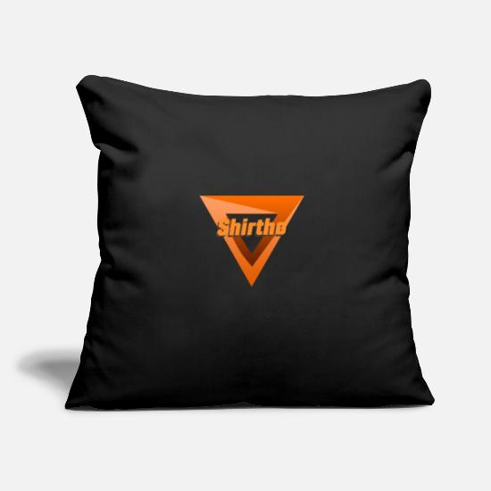 Wife Pillow Cases - Triangle Shirthø - Pillowcase 17,3'' x 17,3'' (45 x 45 cm) black