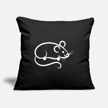 Mouse Mouse - mouse - Pillowcase 17,3'' x 17,3'' (45 x 45 cm)