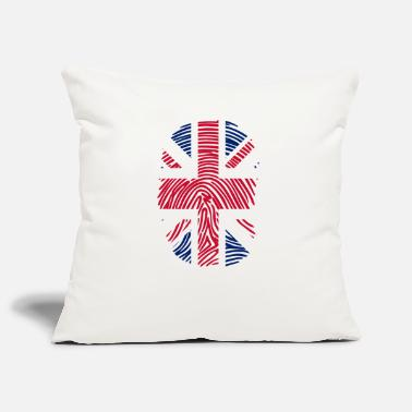 Reino Unido flag of the United Kingdom it's in my DNA - Pillowcase 17,3'' x 17,3'' (45 x 45 cm)