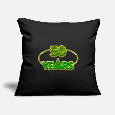 Years 50 Years - 50 years - Pillowcase 17,3'' x 17,3'' (45 x 45 cm)