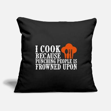 Hobby Cook Hobby Cooking - Pillowcase 17,3'' x 17,3'' (45 x 45 cm)
