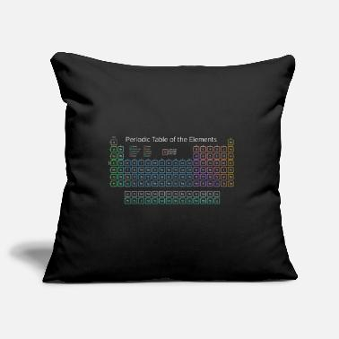 Periodic Table Periodic Table Of The Elements Periodic Table - Pillowcase 17,3'' x 17,3'' (45 x 45 cm)