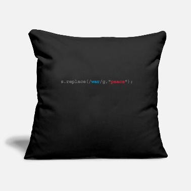Geek replace war with peace - Pillowcase 17,3'' x 17,3'' (45 x 45 cm)