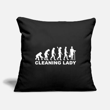Clean What It Is cleaning woman - Pillowcase 17,3'' x 17,3'' (45 x 45 cm)