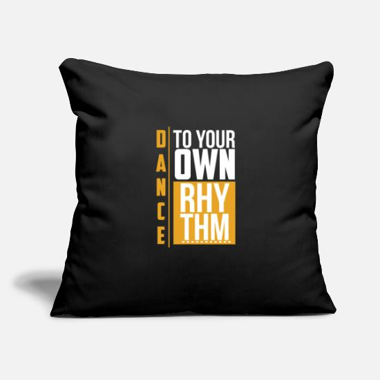 Standard Pillow Cases - Dance - Pillowcase 17,3'' x 17,3'' (45 x 45 cm) black