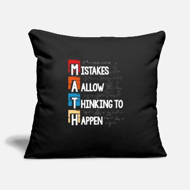 Atom Mistakes allow thinking to happen - Pillowcase 17,3'' x 17,3'' (45 x 45 cm)
