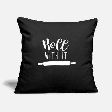 Roll ROLL WITH IT - Pillowcase 17,3'' x 17,3'' (45 x 45 cm)