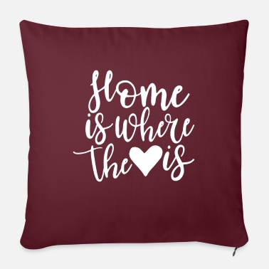 Valentines Day HOME - HEART - Pillowcase 17,3'' x 17,3'' (45 x 45 cm)