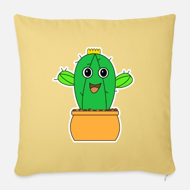 Sultry Cactus Plant Crown Garden Sting Shirt Gift - Pillowcase 17,3'' x 17,3'' (45 x 45 cm)