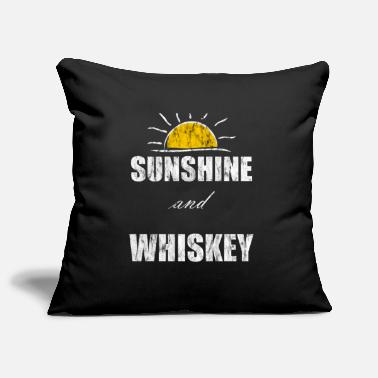 Sunshine And Whiskey Sunshine and whiskey lover - Pillowcase 17,3'' x 17,3'' (45 x 45 cm)