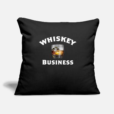 Whiskey Whiskey Funny Design - Whiskey Business - Sierkussenhoes, 44 x 44 cm