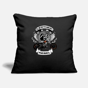 Leather Leather Rebel - Pillowcase 17,3'' x 17,3'' (45 x 45 cm)