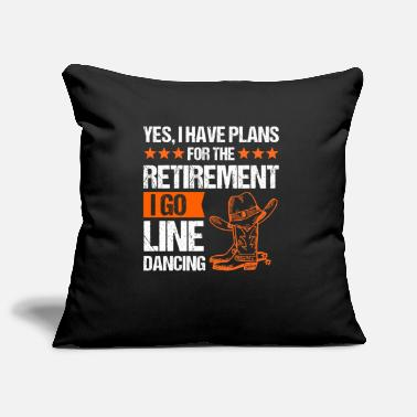 Countrymusic Line dance linedance western country music gift - Pillowcase 17,3'' x 17,3'' (45 x 45 cm)