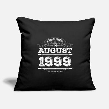 Established in August 1999 - Pillowcase 17,3'' x 17,3'' (45 x 45 cm)