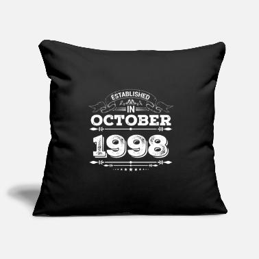 Established in October 1998 - Pillowcase 17,3'' x 17,3'' (45 x 45 cm)