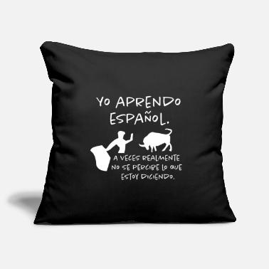 Spanish I learn spanish - Pillowcase 17,3'' x 17,3'' (45 x 45 cm)