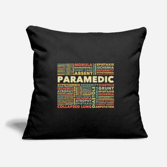 Paramedic Pillow Cases - Paramedic - Pillowcase 17,3'' x 17,3'' (45 x 45 cm) black