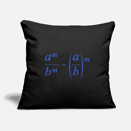 Mathematics Pillow Cases - mathematics - Pillowcase 17,3'' x 17,3'' (45 x 45 cm) black