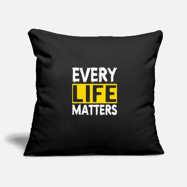 Suicidal Counselor Therapist MENTAL HEALTH AWARENESS: Every Life Matters - Pillowcase 17,3'' x 17,3'' (45 x 45 cm)