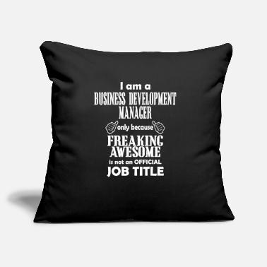 Business Development Manager T-Shirt - Pillowcase 17,3'' x 17,3'' (45 x 45 cm)