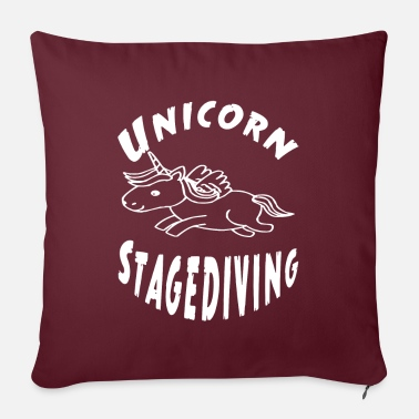 Stagediving Unicorn stagediving - Pillowcase 17,3'' x 17,3'' (45 x 45 cm)
