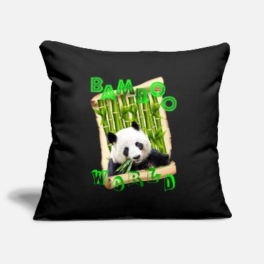 PANDA FEAST - Pillowcase 17,3'' x 17,3'' (45 x 45 cm)