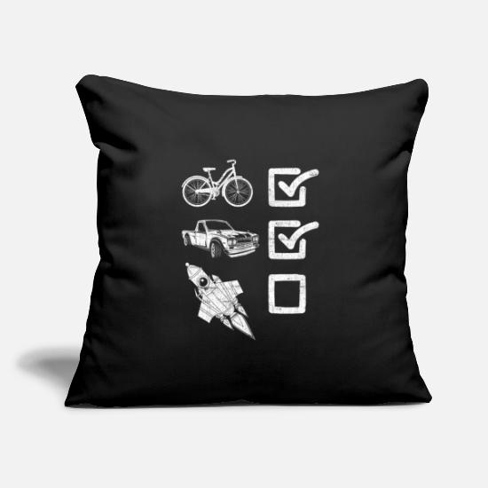 Gift Idea Pillow Cases - Driving license consisted of novice drivers - Pillowcase 17,3'' x 17,3'' (45 x 45 cm) black