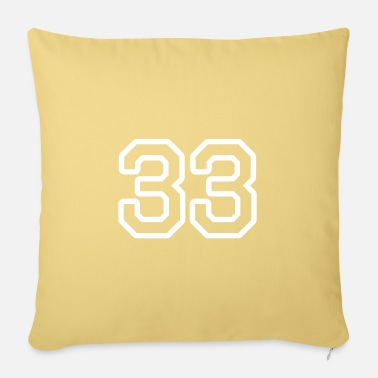 33 33 - Pillowcase 17,3'' x 17,3'' (45 x 45 cm)