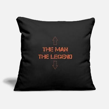 Legend Legend - The man The legend - Pillowcase 17,3'' x 17,3'' (45 x 45 cm)