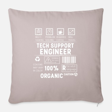 Tech Support Tech Support Engineer - Tech Support engineer - Pillowcase 17,3'' x 17,3'' (45 x 45 cm)