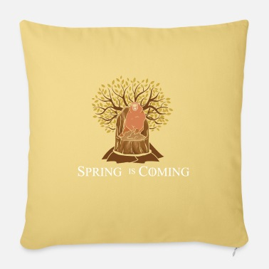 Spring is coming, marmot - Pillowcase 17,3'' x 17,3'' (45 x 45 cm)