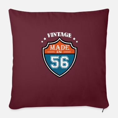 Production Year Vintage Made In 56 1956 Birthday Gift - Pillowcase 17,3'' x 17,3'' (45 x 45 cm)