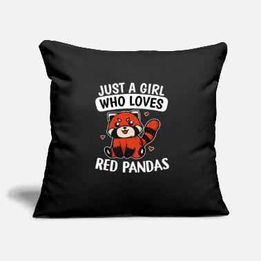 Idea Just A Girl Who Loves Red Pandas Red Panda Costume - Pillowcase 17,3'' x 17,3'' (45 x 45 cm)