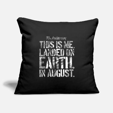 Moon Landing 70 Years Birthday T-Shirt August Moon - Pillowcase 17,3'' x 17,3'' (45 x 45 cm)