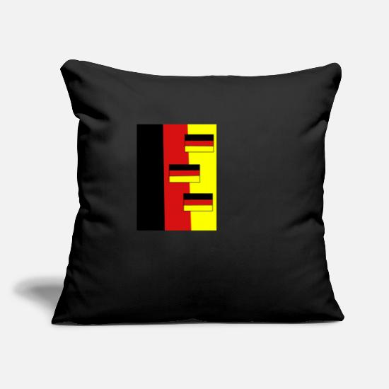 Flag Pillow Cases - flag - Pillowcase 17,3'' x 17,3'' (45 x 45 cm) black