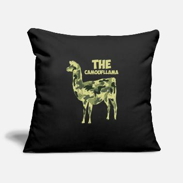 Camoflage The Camoufllama - Funny Camoflage Llama Gifts - Pillowcase 17,3'' x 17,3'' (45 x 45 cm)
